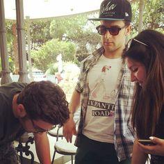 #Repost from @verygabriele with @ig_saveapp. #IlVolo #GianlucaGinoble #PieroBarone #Napoli ❤️
