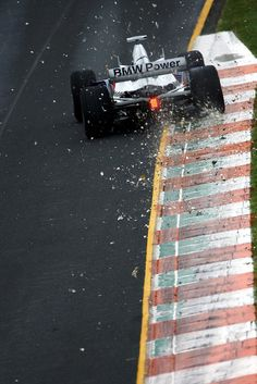 BMW Sauber F1 - Putting down the Power