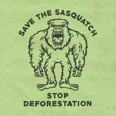 Stop Deforestation - Wade Ryan