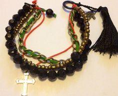 MadeinPerth festival inspired bracelets on Etsy, handmade by me :)