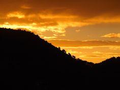 Sonnenuntergang auf der Cortijo