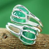 Green Love Attraction from @NOVICA, They help #artisans succeed worldwide.