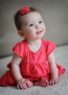 6 month baby picture ideas | ... portrait of a six month old SMYRNA BABY PHOTOGRAPHER | 6 MONTHS CUTE