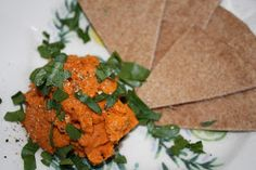Vegan Epicurean: Fat Free Hummus with Roasted Red Pepper and Smoked Paprika
