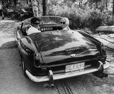 Alain Delon & Shirley Maclaine