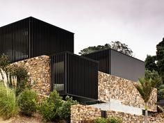 Casa com blocos Arquiteto: Patterson Associates