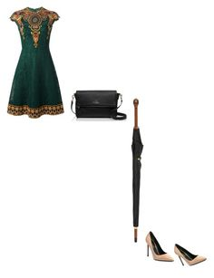 """""""Untitled #804"""" by astridx ❤ liked on Polyvore featuring Valentino, Kate Spade, Yves Saint Laurent and Alexander McQueen"""