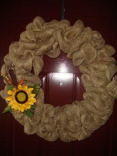 Etsy :: The Cammie Boutique  burlap garland wreath