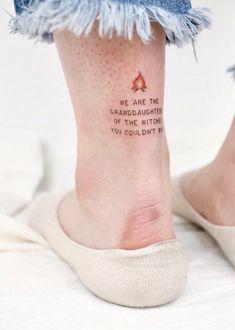Feminist Tattoo Designs Show Girl Power - Blurmark - Perfect Feminine . - feminist tattoo designs show Girl Power – Blurmark – perfect feminist tattoo with fire on t - Tattoo Girls, Girl Tattoos, Tatoos, Sexy Tattoos, Form Tattoo, Shape Tattoo, Soul Mate Tattoo, Body Art Tattoos, Small Tattoos