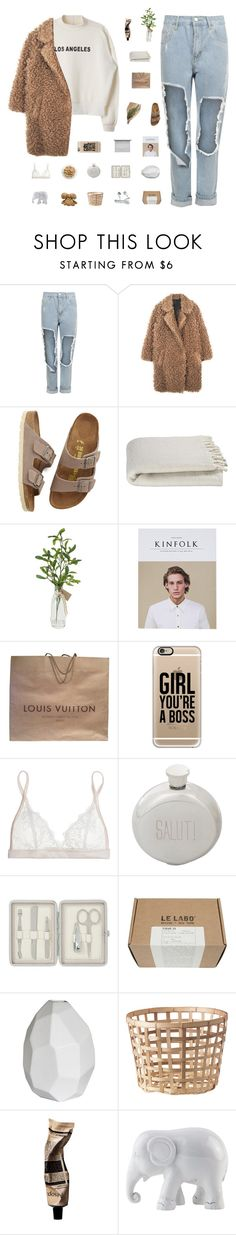 """""""L.A."""" by rbalogun ❤ liked on Polyvore featuring WearAll, Birkenstock, Crate and Barrel, Louis Vuitton, Casetify, Mimi Holliday by Damaris, Izola, John Lewis, Le Labo and CB2"""