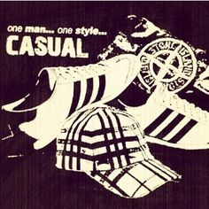 Iconic Casuals, Stone Island, Addidas, Burberry