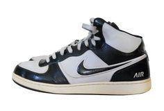 b5822e2be12 Nike Shoe 14 Air Indee High Top Black Gray Basketball Sneaker Men  Nike   BasketballShoes