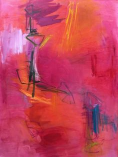 Abstract Painting for sale by Trixie Pitts High Road vertically #art #AbstractExpressionism #abstract #painting #abstractpaintingsforsale