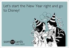 Start the new year off right Disney
