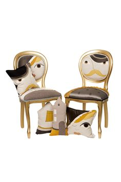 """Home & Interiors """"H.E."""" Collection signed thecraft LAB, by Irina Neacșu – a tale of finding your inner home Dinning Chairs, Home Alone, Home Collections, Textile Art, Armchair, Upholstery, Finding Yourself, Furniture, Design"""