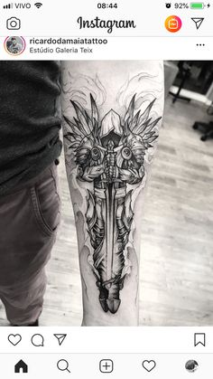 Forarm Tattoos, Celtic Tattoos, Viking Tattoos, Body Art Tattoos, Rune Tattoo, Sword Tattoo, Best Sleeve Tattoos, Tattoo Sleeve Designs, Archangel Tattoo