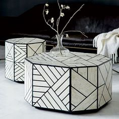 Bone Inlay Coffee Table | west elm