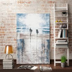 Simple, yet stunning abstract surf artwork. Surf Art, Oil Painting On Canvas, Home Projects, Photo Art, Surfing, Display, Abstract, Simple, Artwork