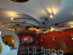 Restaurant at Maasbracht (Nederland) Dutch Gaudi