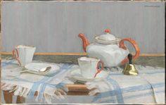 Maurice Boudot-Lamotte (1878-1958) - Still life with teapot, 1902