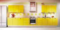 """Our summer cottage has a yellow kitchen, and needs renovation.. this would stay in line with the """"mökki"""" style :)"""