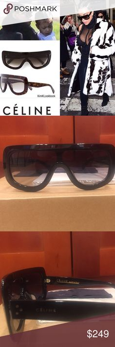 "Celine ""Kim Kardashian"" Sunglasses Celine ""Kim Kardashian"" Sunglasses 41377. Brand New. Includes original packing. All sunglasses are shipped in bubble wrap to ensure that they will arrive safe and undamaged. Celine Accessories Glasses"