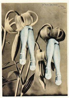 Collage art by Karel Teige, Untitled, 1941.