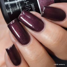 Aubergine gel is available Black Friday while supplies last! For use with the amazing Jamberry TruShine Gel Enamel System, you can use at home for long lasting manicures. - Dana #ghousejams