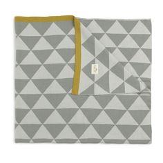 The Modern Baby - Ferm Living - Little Remix Blanket - Grey