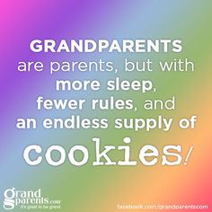 """I'm so thankful for the various amounts of time that I had with my Grandparents: my paternal """"Granny"""", my maternal """"Grandmother"""", and my paternal """"Pop""""."""