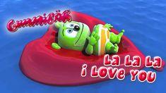 La La La I Love You - Gummibär - The Gummy Bear Cartoon Songs, Cartoon Kids, Ringtones For Android, Gummy Bear Song, Just Dance Kids, I Love You Funny, Bears Game, Balloon Crafts, Funny Bears