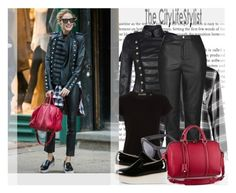 """""""Olivia Palermo / Street Style..."""" by unamiradaatuarmario ❤ liked on Polyvore featuring Rails, Topshop, Vince, Westward Leaning, Sol Sana, Louis Vuitton, StreetStyle and OliviaPalermo"""
