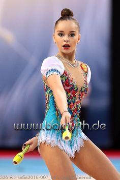 Arina AVERINA (Russia) ~ Clubs @ WC Sofia 2016  Photographer  Bernd Thierolf.