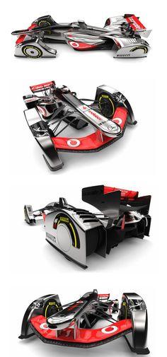 Amazing concept McLaren F1 car by Jihoon Seo