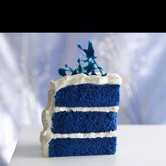 Blue velvet cake!!
