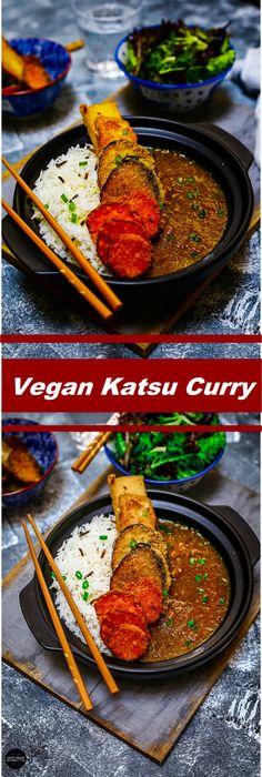 Vegan Katsu Curry Vegan Katsu Curry, Tandoori Chicken, Vegetarian Recipes, Veg Recipes, Vegan Recipes, Vegetable Dip Recipes