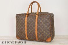 Louis Vuitton Monogram Sirius 45 Travel Bag Suitcase M41408