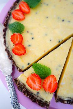 Vegan Desserts, Raw Food Recipes, Dessert Recipes, Cookie Cake Pie, Pie Dessert, Lactose Free, Raw Vegan, Fine Dining, Food Inspiration