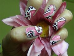 Chained Leopard Nail Art Tutorial