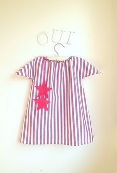 Girls Dress  Toddler Dress  French Style  by chocolatineboutique, $30.00