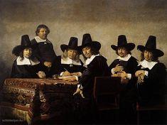 Jan de Bray, De regenten van het Armekinderhuis te Haarlem, 1663