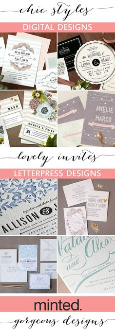 It's Giveaway Time! Want a chance to win a 200.00 gift certificate to Minted? Click here for ALL the details! http://www.theperfectpalette.com/2013/04/sponsored-post-giveaway-minted.html