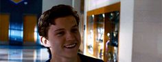 "newtts-scamander: ""ewan-mcgregor: ""Spider-Man: Homecoming (2017) "" happy peter is my new religion """