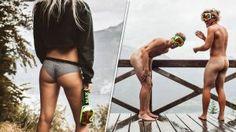 奧地利滑雪鏡品牌證明裸女亦然有市場?