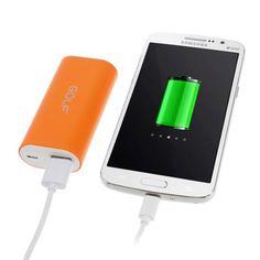 Power Bank 5000 mAh Golf Tiger 26 color naranja #iphone #blogtecnologia #tecnologia