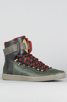 The Baretto Sneakers in Black, Forest, & Gunmetal by Creative Recreation at karmaloop.com