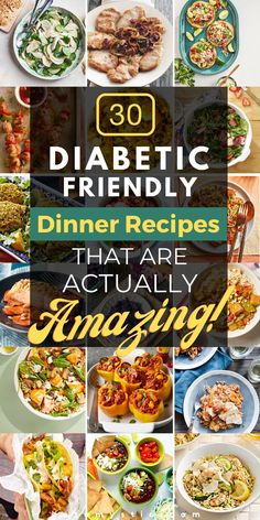 Easy Diabetic Meals, Diabetic Food List, Diabetic Friendly Desserts, Diabetic Recipes For Dinner, Healthy Recipes For Diabetics, Diabetic Meal Plan, Vegetarian Recipes Dinner, Diet Recipes, Cooking Recipes