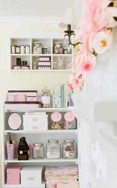 candy jars, mason jars, etc for storage