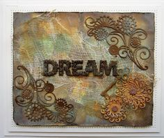 PartiCraft (Participate In Craft): Faux Rusted Background Card