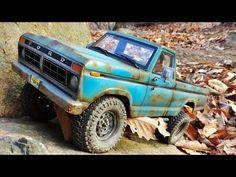 [ICORT] rusty FORD F150(scx10) & SCHOOL BUS(trx4) 1/10 SCALE RC CAR [4X4...